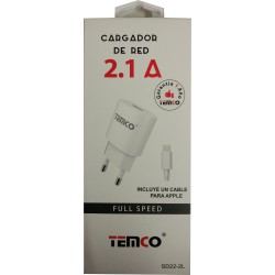 Cargador iphone 2.1 Ah
